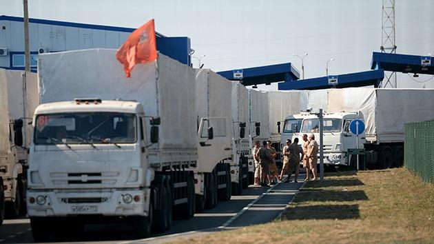 Putin acuerda con Poroshenko un plan de ayuda humanitaria para el sureste de Ucrania