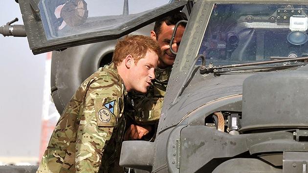 El príncipe Harry, sano y salvo en la base de Afganistán atacada por los talibanes