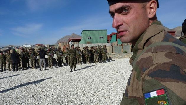 Militares franceses se entrenan en Jordania para posibles operaciones en Siria