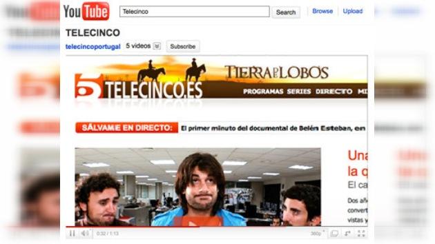 YouTube gana el pleito entablado por un canal de televisión español