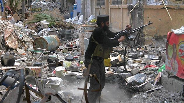 Decomisan armas de fabricación israelí en Siria