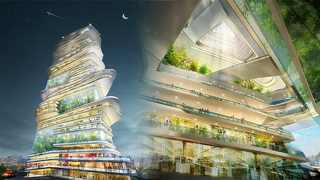 La Ciudad sin Límites: un mundo futurista en el centro de Londres