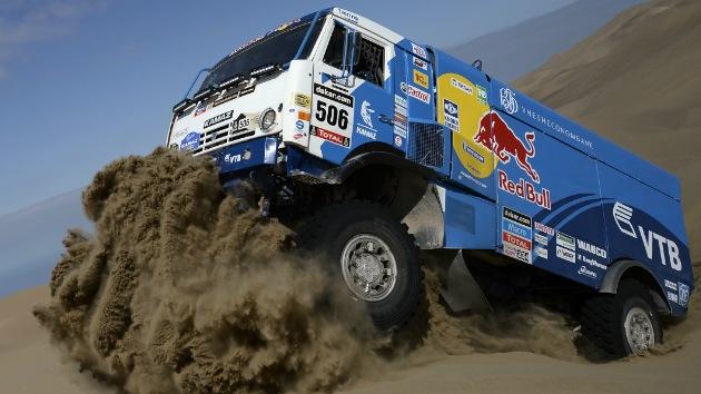 Kamaz gana el pulso a Iveco y se adjudica el título del Rally Dakar 2014 en camiones