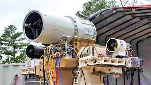 'Star Wars' en el mar: la Marina de EE.UU. afila sus armas láser