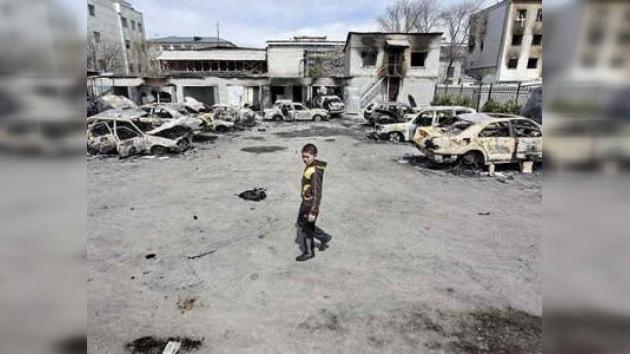 Medvédev defenderá a los rusos en Kirguistán