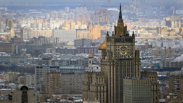 """Moscú promete """"una respuesta adecuada"""" si EE.UU. la sanciona por tráfico de personas"""