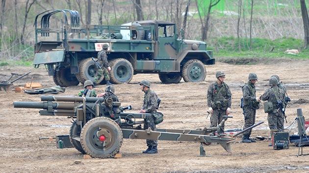 Corea del Sur lleva a cabo ejercicios para repeler un posible ataque de Corea del Norte