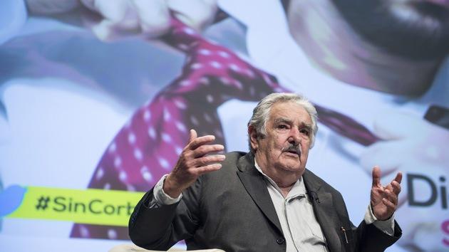 """Video con José Mujica: """"Piba, te daría un beso"""""""