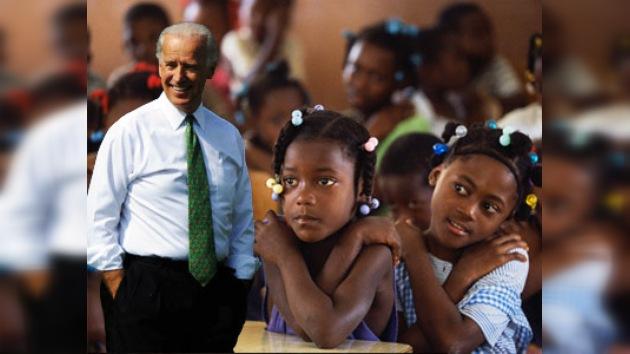 Biden visita la comunidad haitiana de Miami