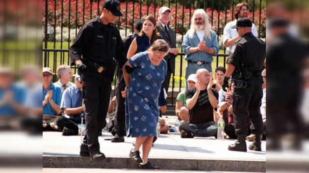 Una protesta ecologista ante la Casa Blanca se salda con 200 detenidos