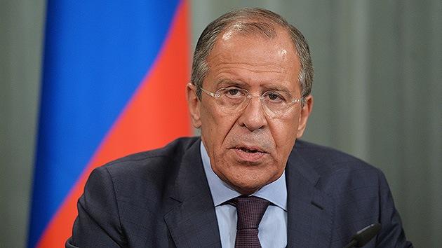 "Lavrov: ""Rusia no tolerará otra ola de ataques a sus intereses"""
