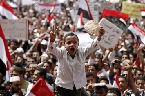 Los niños en los disturbios árabes