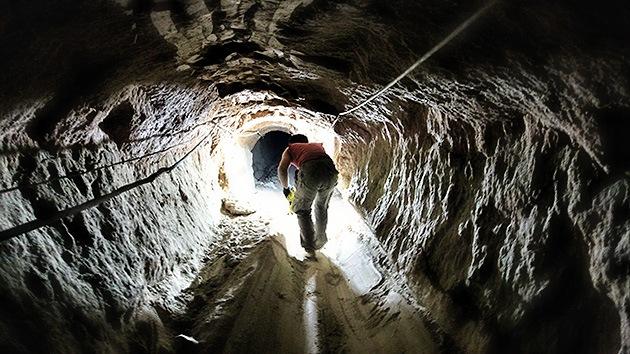 La Franja de Gaza no quiere perder sus túneles clandestinos en la frontera con Egipto