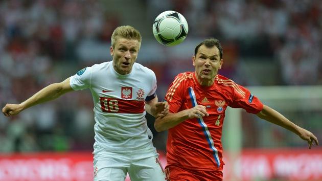 Rusia, a un paso de los cuartos de final en la Eurocopa