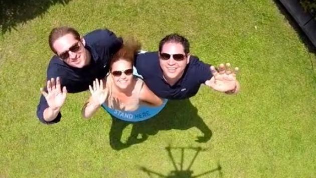 Los 'selfies' tomados con drones apuntan alto en la Red