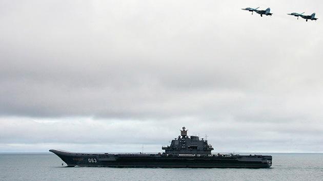 Ingenieros rusos diseñan tres clases de portaaviones sin financiamiento estatal