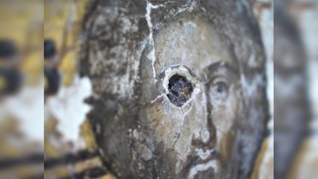 Empiezan la restauración de los frescos hallados en los muros del Kremlin
