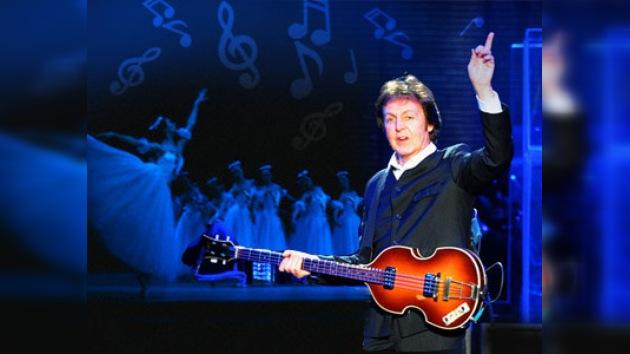 El famoso ex beatle Paul McCartney escribirá música para ballet