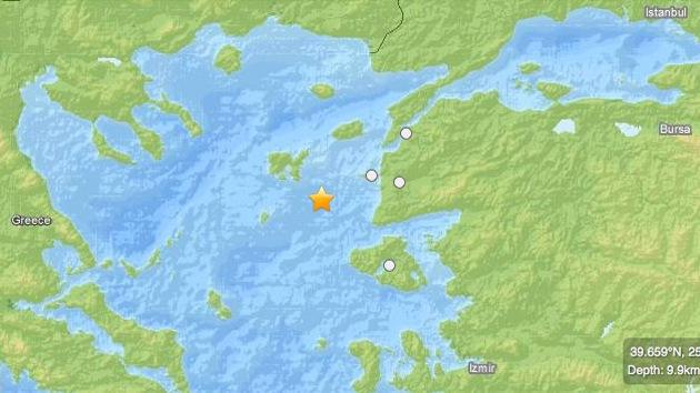 Un sismo de 5,7 grados de magnitud sacude Turquía