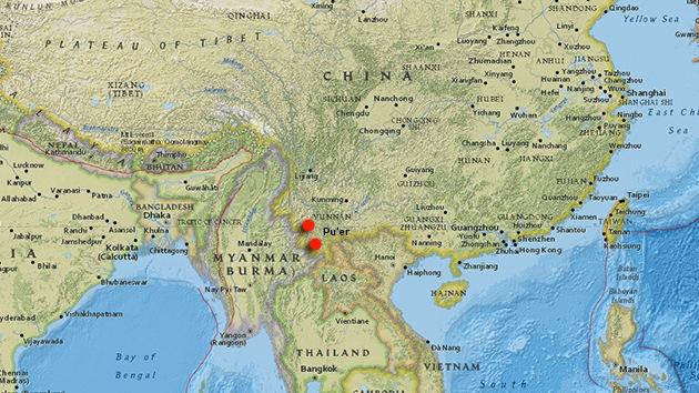 Una serie de terremotos sacude el suroeste de China