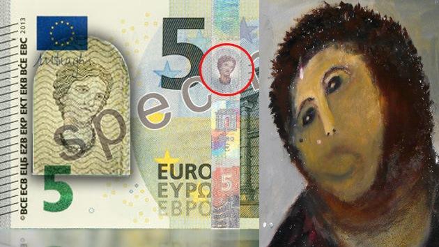 El 'Ecce Homo' de Borja 'se apodera' de los nuevos billetes de cinco euros