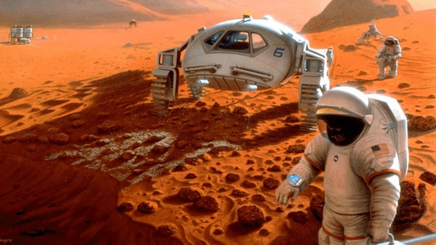Lucha por la supervivencia: SpaceX proyecta una colonia de vegetarianos en Marte