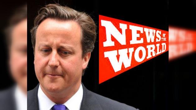 ¿Será Cameron el próximo en dimitir por el escándalo de News of the World?
