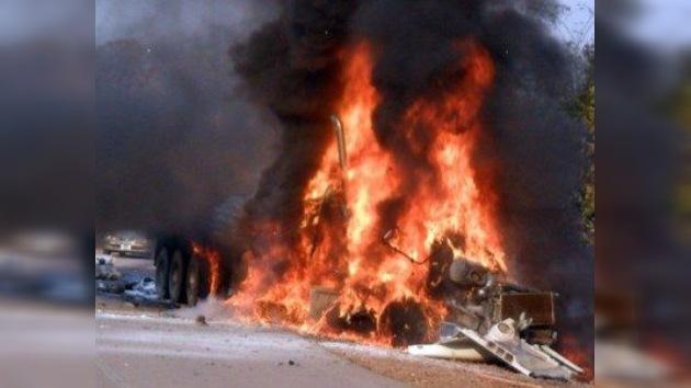 Un bus con mujeres y niños explota en Afganistán