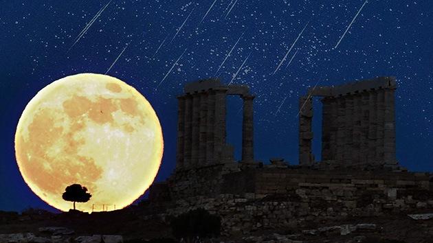 Prepárense para la 'superluna' y la lluvia de estrellas Perseidas en agosto