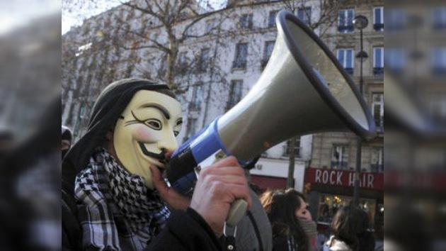 Anonymous amenaza con atacar todos los viernes