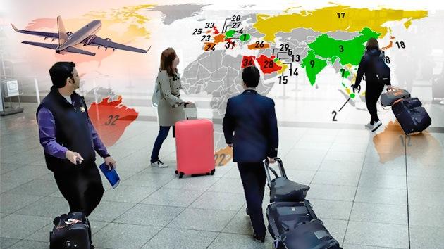 Infografía: ¿En qué países se vive mejor como extranjero?