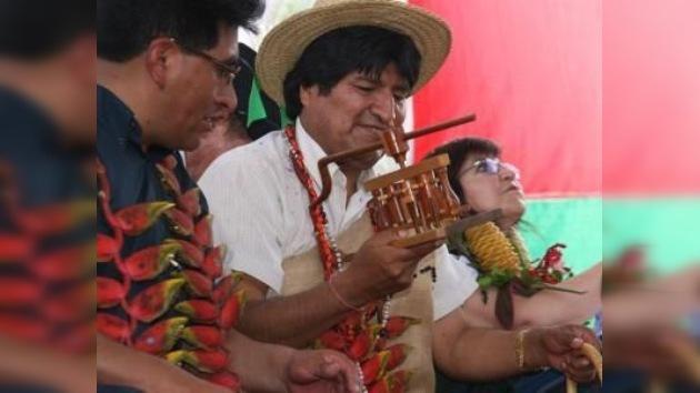 Evo Morales sufre mareos por desgaste físico y mala alimentación