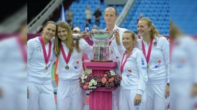 República Checa conquista la Copa Federación de tenis en Moscú