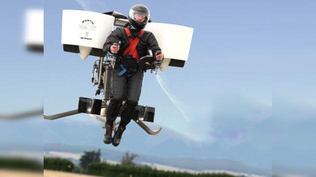 Una mochila voladora se pondrá a la venta a finales del año