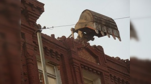 "Activistas arquitectónicos: ""Moscú muere por falta de amor"""