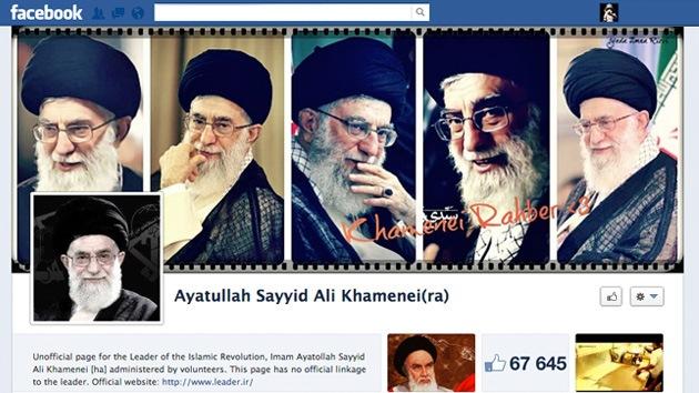 El ayatolá Jameneí 'se abre' una página en Facebook, red social prohibida en Irán
