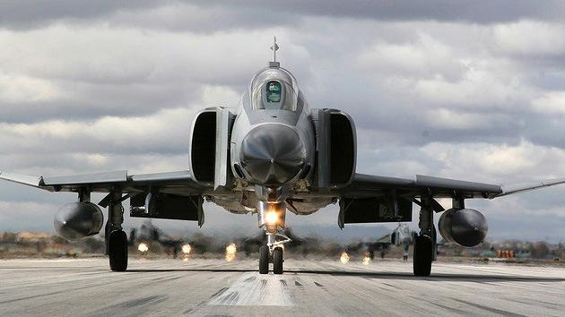 Un avión militar turco podría haber sufrido un accidente en territorio sirio
