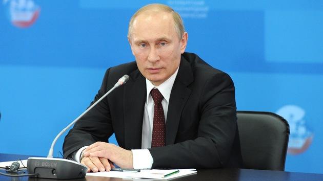 """Putin: """"Rusia se propone ser uno de los líderes de la transformación de la energía global"""""""
