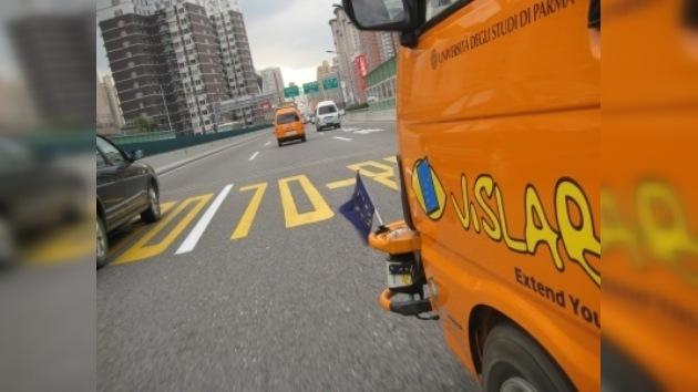 Finaliza la travesía intercontinental de los vehículos sin conductor