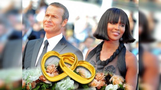 Naomi Campbell y Vladislav Doronin se casarán en diciembre en Egipto