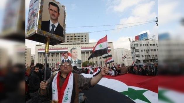 La oposición siria dice haber atacado a familiares de Al Assad