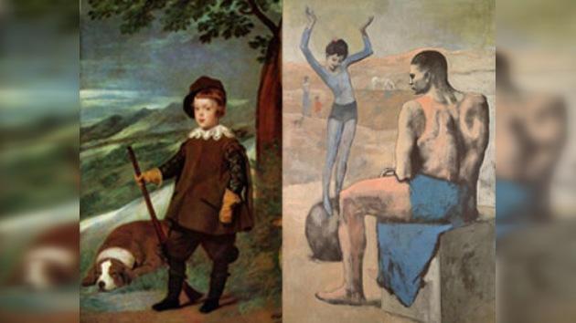 El Prado recibe a 'La acróbata de la bola'