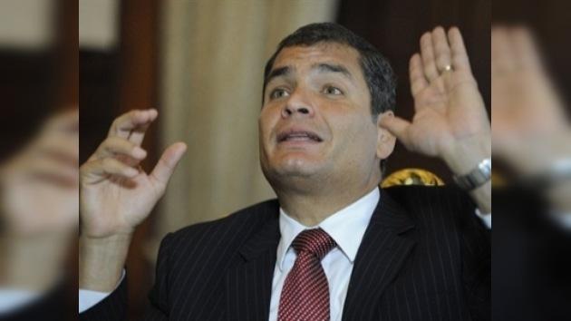 Correa revela la identidad de un cabecilla de la sublevación policial