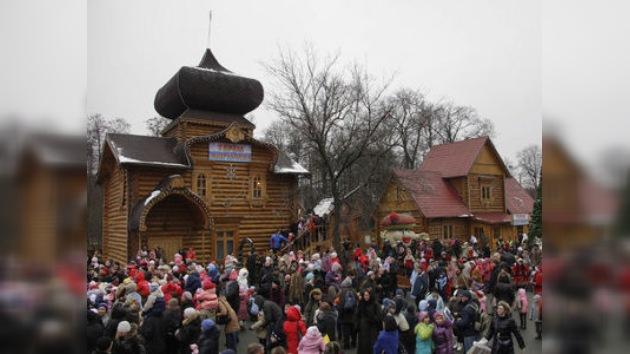 Conozca la villa del Abuelo del Frío en Moscú