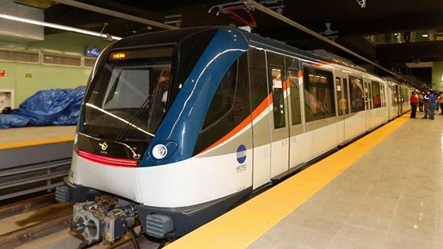 Inauguran en Panamá la primera línea de metro de Centroamérica