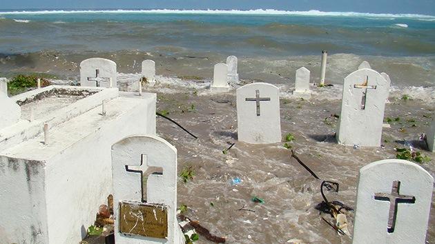 Soldados japoneses de la Segunda Guerra Mundial 'salen' de sus tumbas en el Pacífico