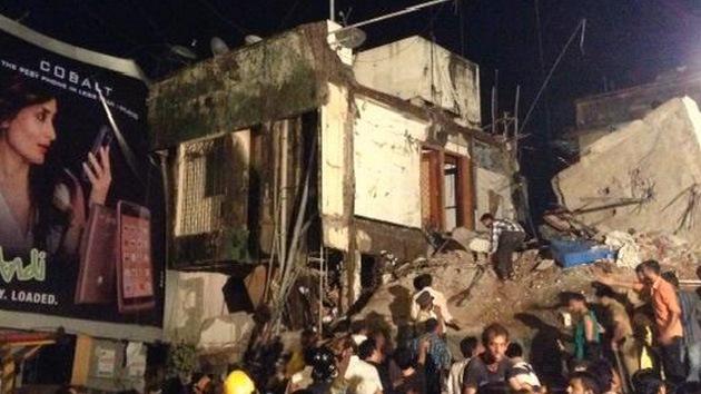 Cuatro muertos en el colapso de un edificio en Bombay