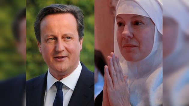 Historia de un amor: La ex novia de David Cameron, ahora monja benedictina