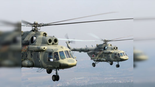Rusia suministra al ejército ecuatoriano dos helicópteros de transporte