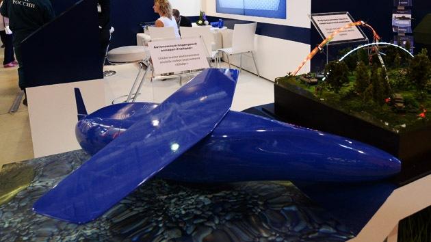 La Armada rusa se equipa con drones submarinos